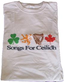 Songs For Ceilidh T-Shirt